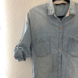 ZARA - Denim shirts